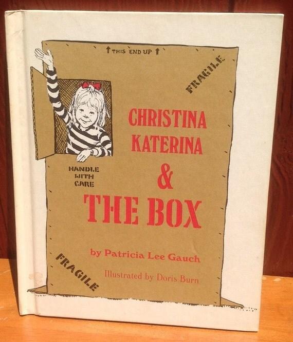 Christina Katerina & the Box - Patricia Lee Gauch - Doris Burn - 1971 - Vintage Kids Book