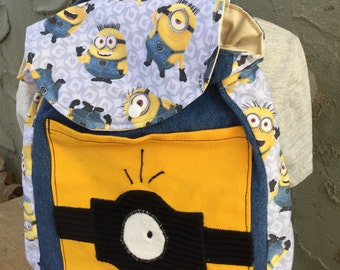 Toddler Sized Backpack -- MINION