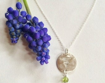 Earth Necklace with Peridot