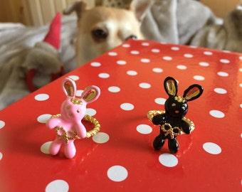 Bunny hop hop ring