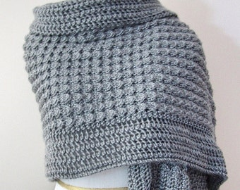 Lacy Shawl Knitting Pattern PDF