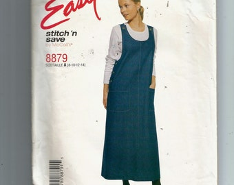 McCall's Misses' Jumper Pattern 8879
