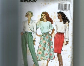 Butterick Misses' Skirt and Pants Pattern 5857