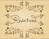 RESERVED for Michele