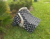 4 Customers Only  Car Seat Tent Canopy Cover To Match Crib Set