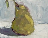 pear painting original acrylic painting, wall art, home decor