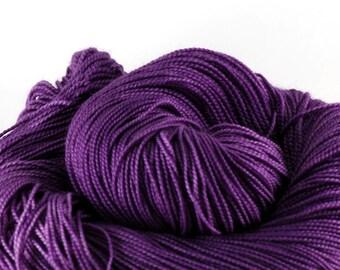 Hand dyed Merino Sock Yarn 80/20 - Dahlia