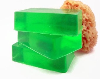 Fresh Cut Grass Soap, Soap, Handmade Green Artisan Soap
