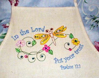 Scripture Dragonflies-10 Design Set - with and w/o Scriptures - Embroidery Designs