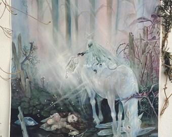 Causeway - Faerie / Magical / Fantasy Art Print