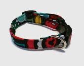 Disney Mickey Mouse Inspired by Vera Bradley Midnight Mickey Dog Collar XS S M L