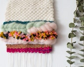 Cute as a Button - One of a Kind Handmade Weaving by Jackie Dives