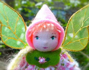 Miniature Art Doll - Flower Fairy