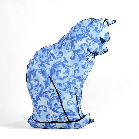 Large Animal Shaped Pillows : decorative pillow cat pillow animal pillow cat by pattihaskins