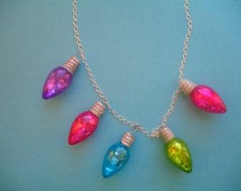 Holiday Lights Shimmer Necklace