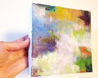 original abstract landscape, original art, modern living, home decor, fine art