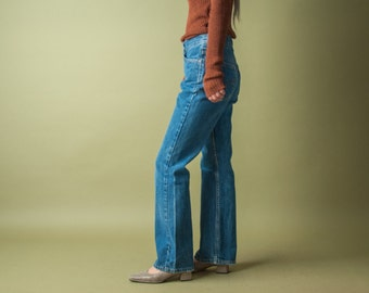 LEVIS 550 boot cut straight leg jeans / classic levis / 28W / 1776t