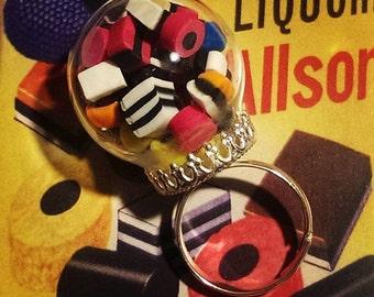 3D LIQUORICE ALLSORTS RING