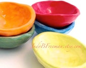 Food Prep Trinket Bowl Your Color Choice Made to Order BWL00011