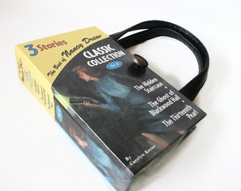 Book Purse Best of Nancy Drew Classic Collection Handbag Upcycled Book Bag Trendy Vintage Clutch