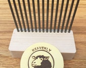 Single Row Comb, Made by Heavenly Handspinning