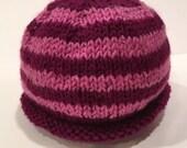Pink + Magenta 0-3m Knit ...