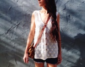 Southwest Vintage Crocheted Vest