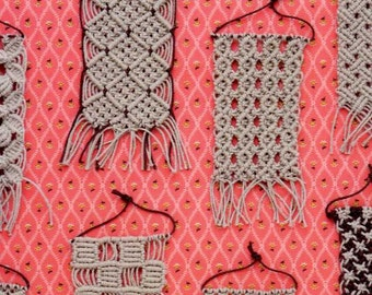 Macrame Pattern Book - Japanese Craft Book MM