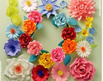 Origami Flowers - Japanese Craft Book