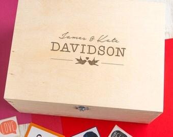Wedding Keepsake Box