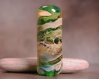 Lampwork Glass Focal Bead Divine Spark Designs SRA