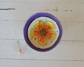CUSTOM FOR DEANNA Ceramic Bowl,  Cereal, Ice Cream,  Soup Bowl,  Kitchen Bowl, Small Serving Bowl, Kitchen, Flower Bowl, Dottie Dracos,