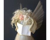 Vintage Christmas Ornaments - Angel -