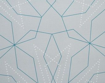 Wrapping Paper -- Snowflake Patterned Paper -- pattern 3