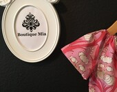 Will fit Size 12 month to 5 yr - READY to MAIL  - Peasant Dress or Top - Amy Butler - All Pink-  by Boutique Mia