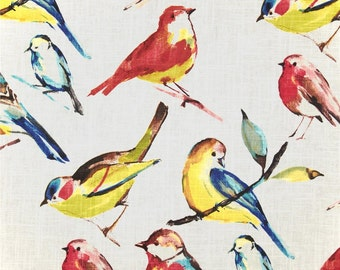 Birdwatcher summer pillow cover bird pillow cover bird cushion cover
