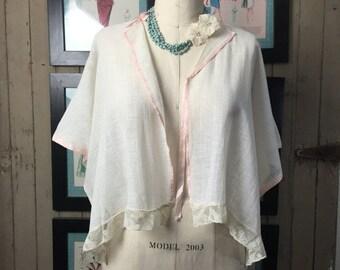 Sale 1920s bed jacket 20 lingerie vintage lingerie flapper lingerie vintage house coat antique lingerie
