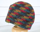 Multicolor Striped 3-6 Month Size Winter Baby Beanie