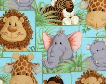 Jungle Babies Animal Fabric 2006 Sieries