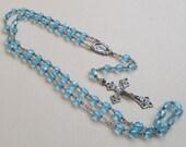 RESERVED!! Vintage Sterling Rosary