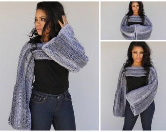 Crochet Pullover Shrug
