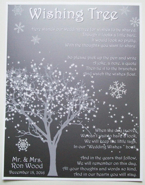 wedding wishing tree instructions