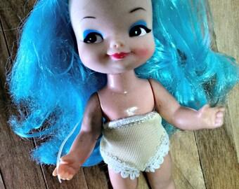 Little Vintage Finger Ding on a Kelly Dolly Body