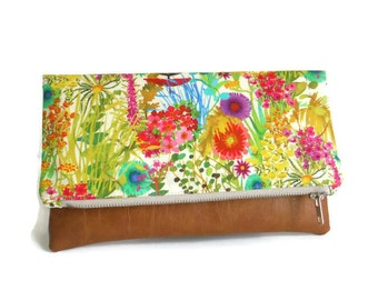 Liberty of London - Tresco - Foldover Clutch - Clutch Bag - Purse
