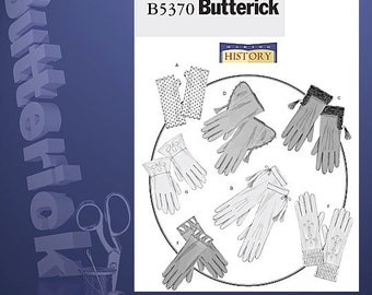 Diy Sewing Pattern-Butterick 5370-Gloves One Size Costume, Steampunk, Cosplay