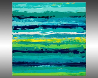 Reclaimed 4 - Large Original Abstract Painting, Landscape, Canvas Art, Modern, Contemporary