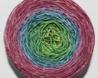 Hummingbird Gradient, 100g Corriedale, dyed to order