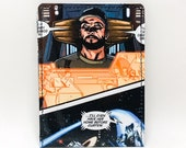 Sewn Comic Book Wallet - Mass Effect - Jeff and The Normandy