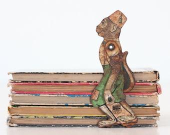 Vintage Tin Monkey, J Chein