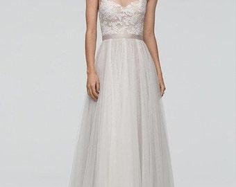 Wedding Dress Lining Fabric plus Sizing of Pattern